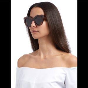 Celine sunglasses. Havana brown.